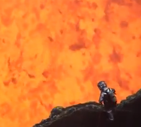 Lens selection and the lava monster from the center of the earth
