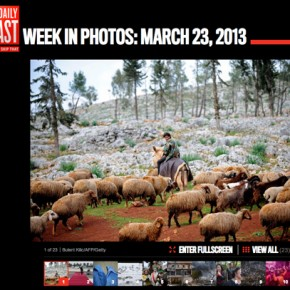 Week in Pictures for Newsweek/The Daily Beast